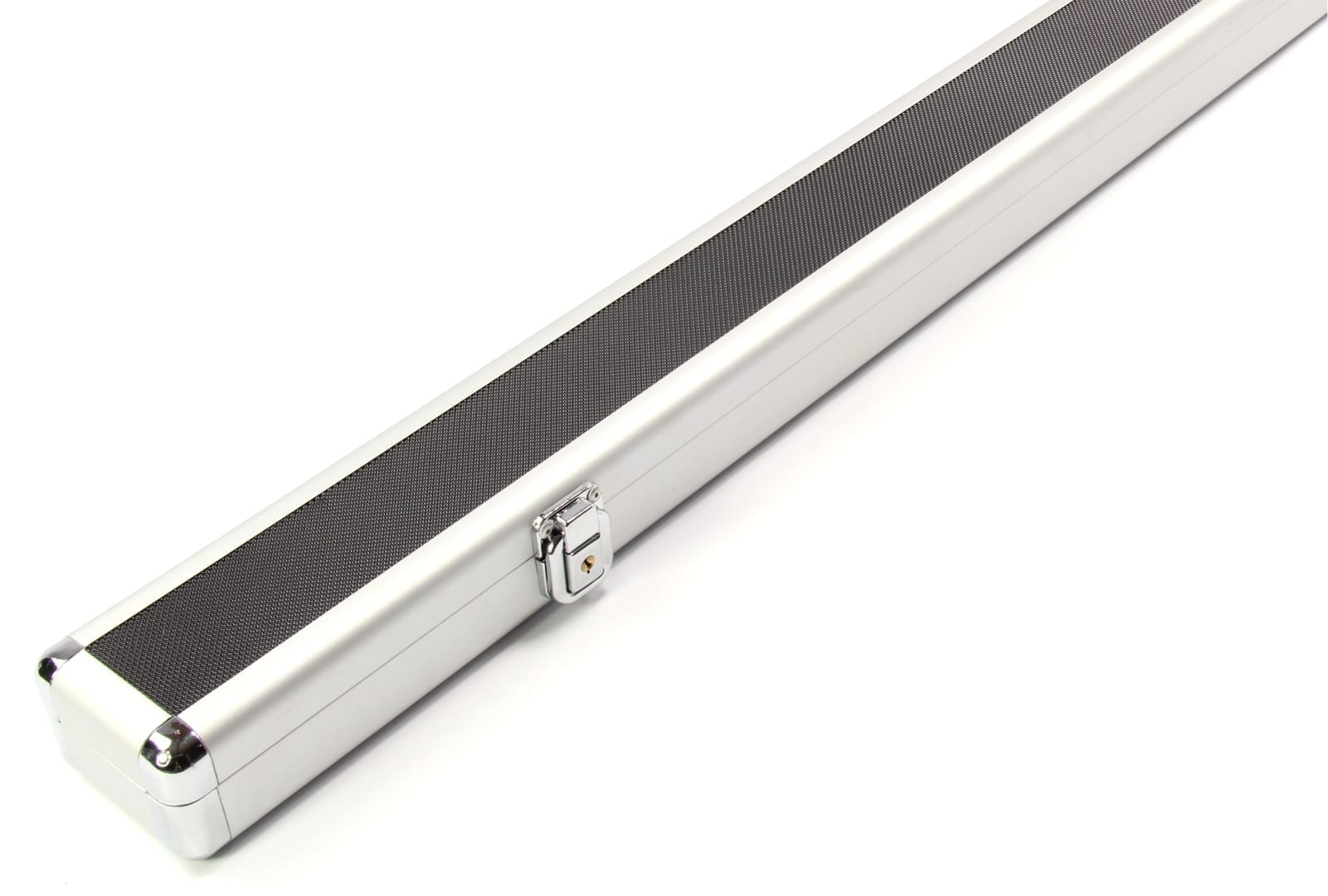 151cm 2 Cue ACOUSTIC FOAM Lined Aluminium 1 Piece Pool Snooker Cue Case