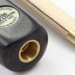 Peradon NEWBURY 3/4 Ash Ebony Snooker Pool Cue 57 Inch - 9.5mm Tip